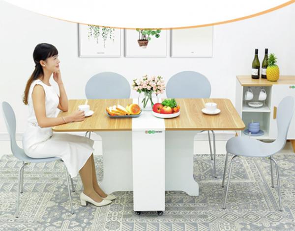 Bộ bàn ăn nhỏ gọn thông minh