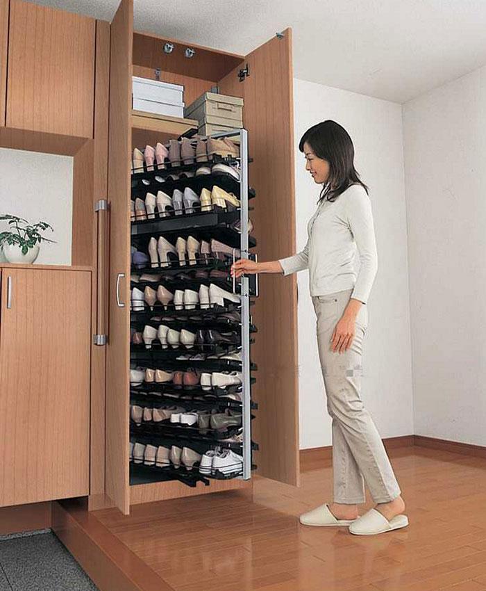 14 mẫu tủ giày thông minh