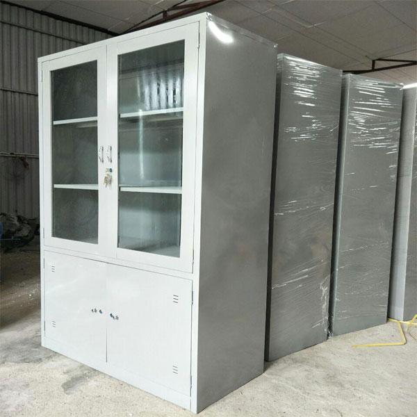 Thanh lý tủ sắt đựng tài liệu 2 cánh Tủ sắt văn phòng TU09K3