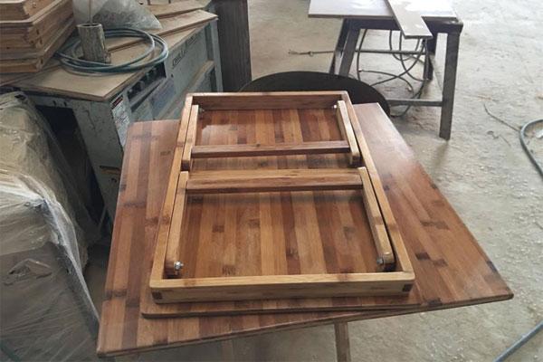 2 chân bàn gấp gọn được vào nhau kích thước mặt bàn có thể thay đổi theo sản xuất kích thước yêu cầu