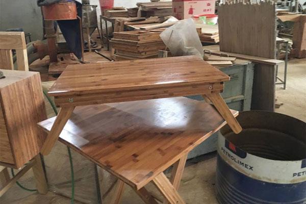Làm từ gỗ tre tự nhiên