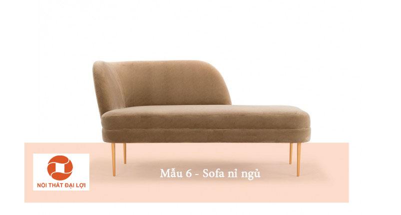 Mẫu 6 - Sofa nỉ thư giãn