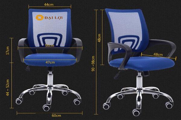 lưu ý đến kích thước ghế là một trong những yếu tố quan trọng