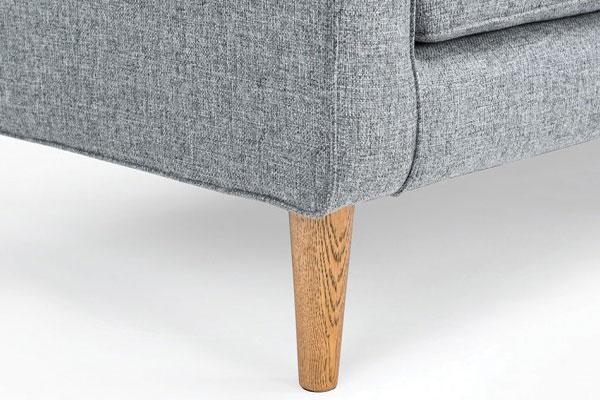 Chân sofa D100 thiết kế có 2 kiểu