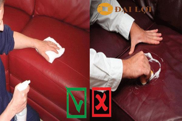 4 bước vệ sinh sofa