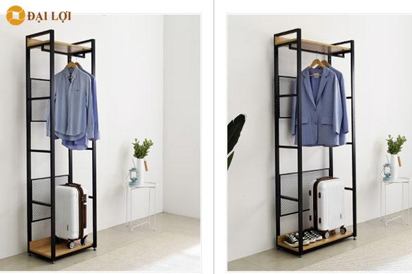 Thiết kế linh hoạt tách rời dễ dàng bố trí đổi mới không gian shop quần áo