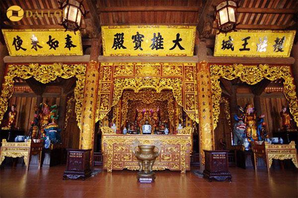 đồ thờ đồng sơn son thiếp vàng