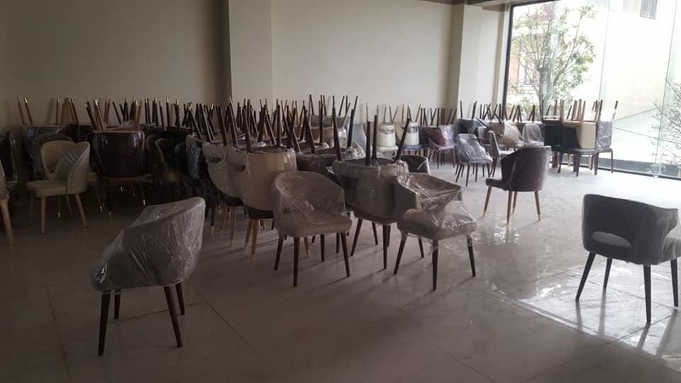 Mẫu 11 ghế cafe gỗ chữ A