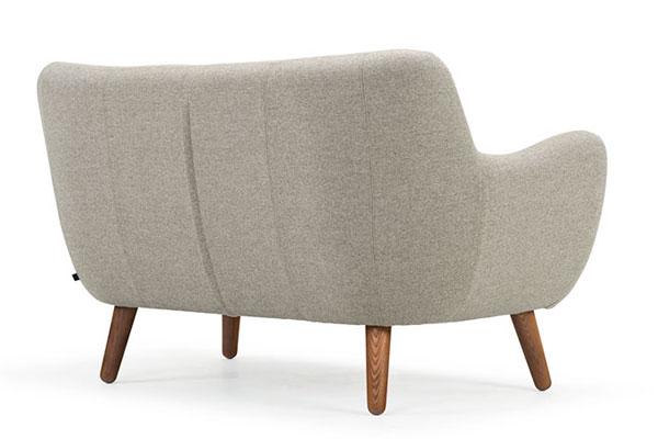 Mặt lưng của ghế sofa văng nỉ