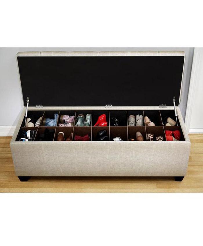 Tủ giày dép thông minh bằng vải