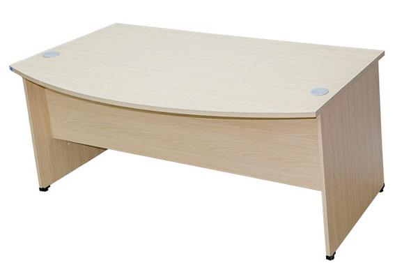 Mặt bàn và thiết kế trước của bàn làm việc 1m8