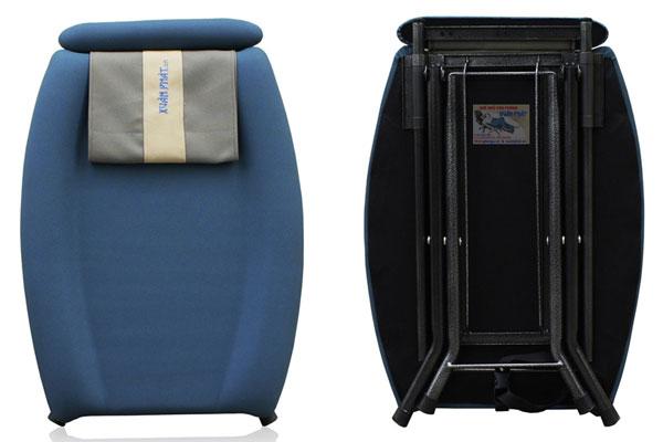 khi ghế ngủ gấp gọn, chiều dài là 730 mm