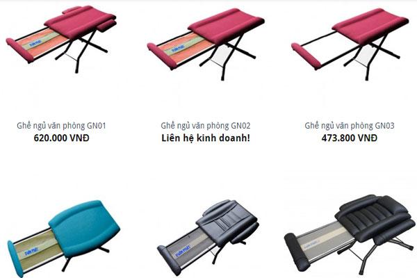 Những mẫu ghế ngủ Hòa Phát và giá bán