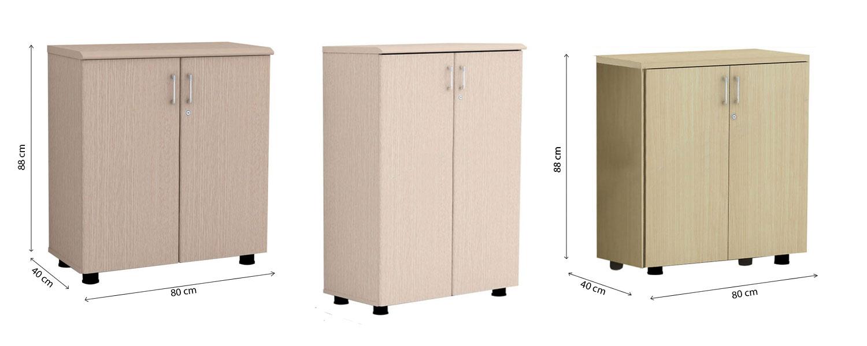 Tủ tài liệu thấp Hòa Phát thiết kế bằng gỗ, đây là mẫu tủ cá nhân sử dụng trong văn phòng