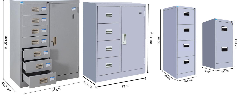 Tủ Đựng file tài liệu nhiều ngăn bằng sắt của Hòa Phát