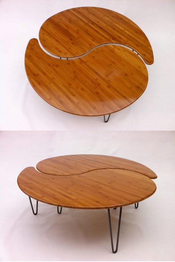 Bàn Sofa từ gỗ Tre