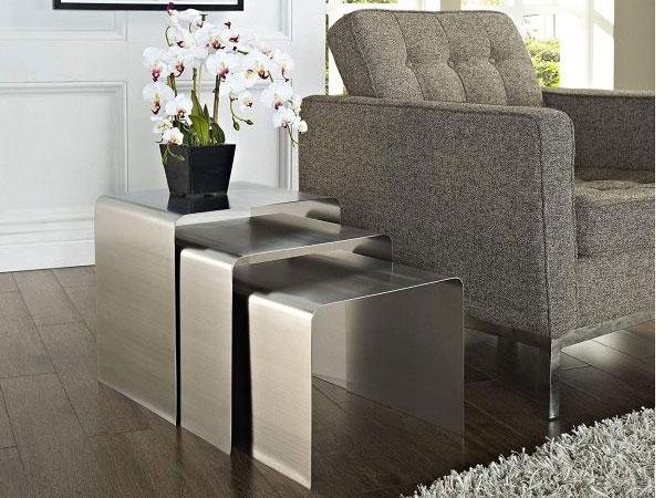 Bàn sofa bằng Inox