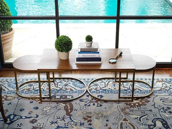 Bàn sofa Bộ ba Art Deco