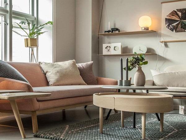 Bàn sofa gỗ tự nhiên