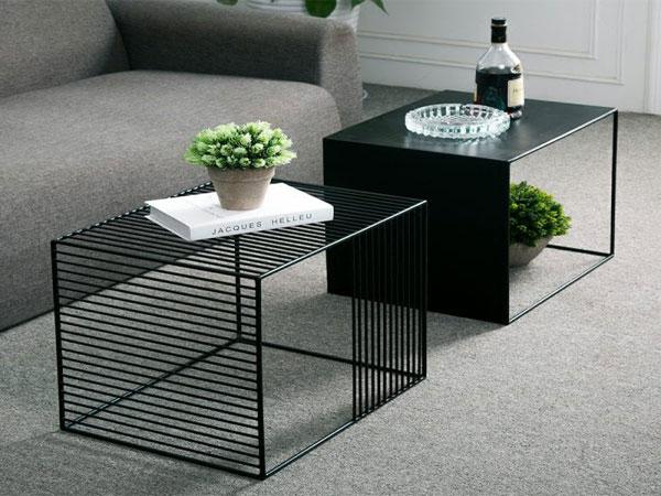 bàn sofa kim loại