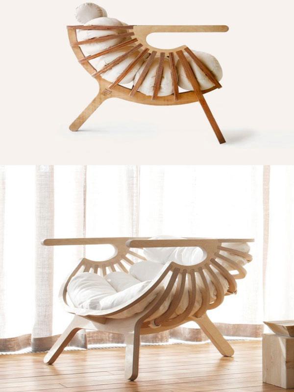 Ghế sofa gỗ thư giãn