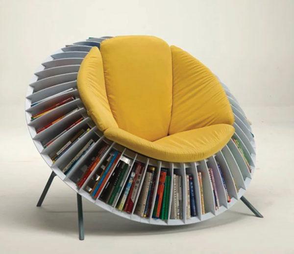 ghế điêu khắc hình bông hoa Hướng Dương