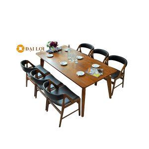Bộ bàn ghế ăn 6 người Dragon 105