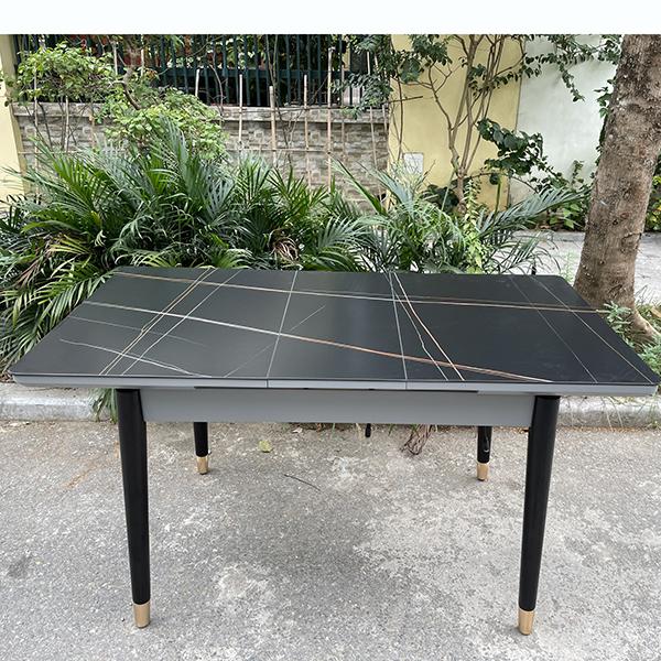 mặt bàn có thêm màu ghi vân đá