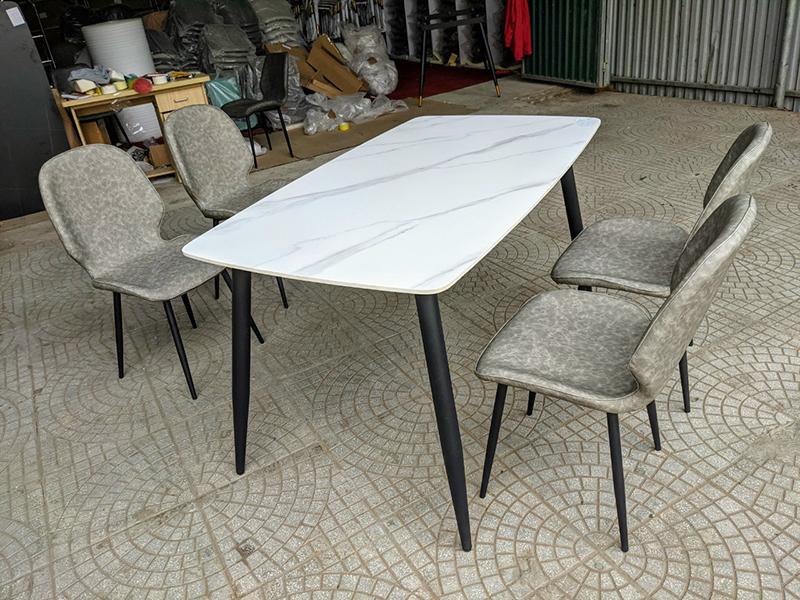 Bộ bàn 4 ghế Nordic nhập khẩu