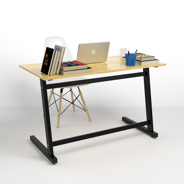 Chân bàn Z được làm từ sắt hộp sơn tĩnh điện vô cùng chắc chắn và bền bỉ