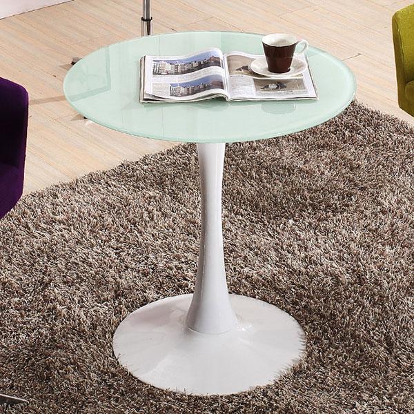 Bàn Tulip D=60cm thường được dùng làm bàn cafe