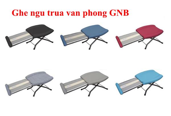 Ghế ngủ trưa văn phòng GNB có 6 màu như hình