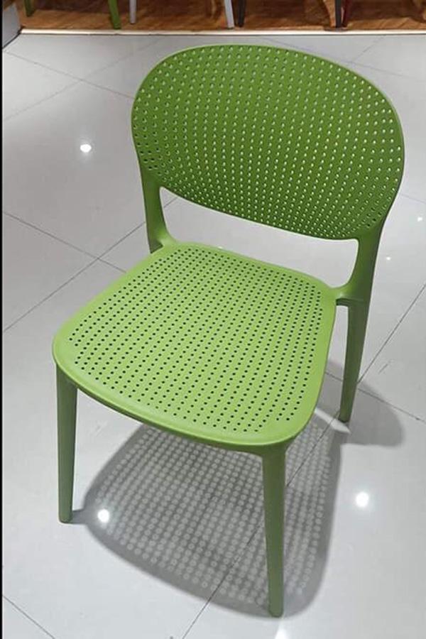 Ghế cafe Hol Sankyo màu xanh lá