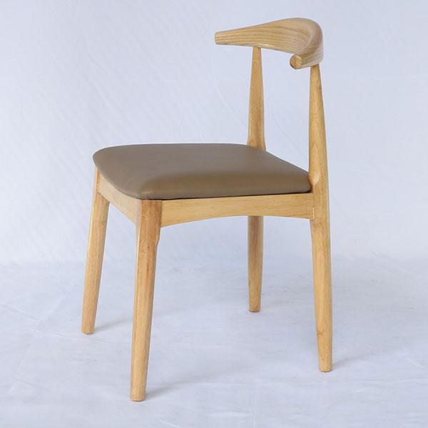 Ghế Elbow gỗ tự nhiên