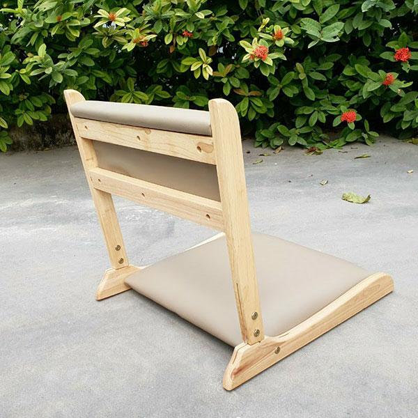Ghế ngồi bệt thường được dùng làm ghế trang điểm, ghế cafe, ghế ngồi học