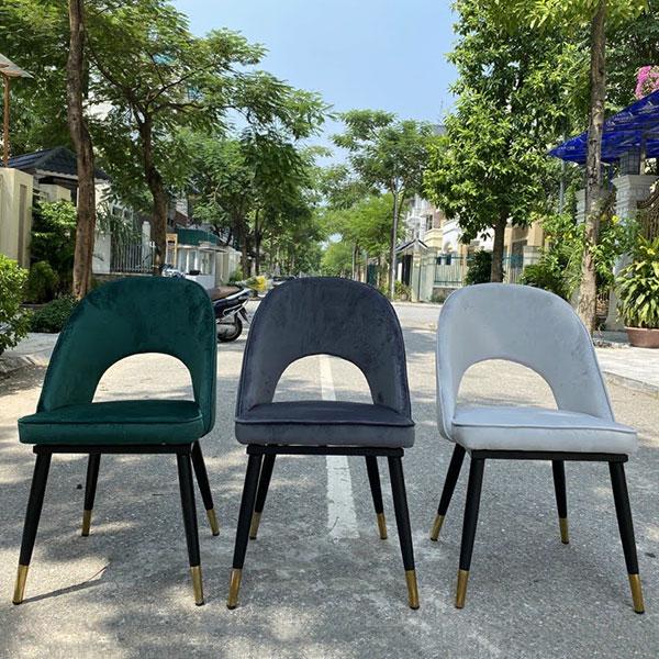 Ghế Saarinen có sẵn 3 màu : Xanh, Xám, Ghi Trắng như ảnh