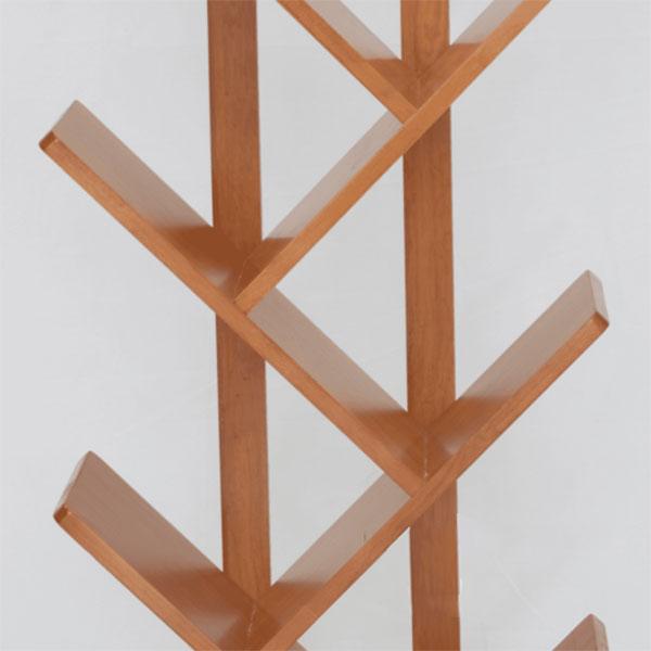 Kệ Sách được cấu tạo từ gỗ cao su tự nhiên 100%