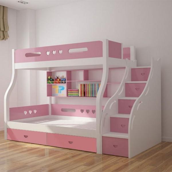 Chọn kiểu dáng và kích thước giường tầng sao cho phù hợp với căn phòng