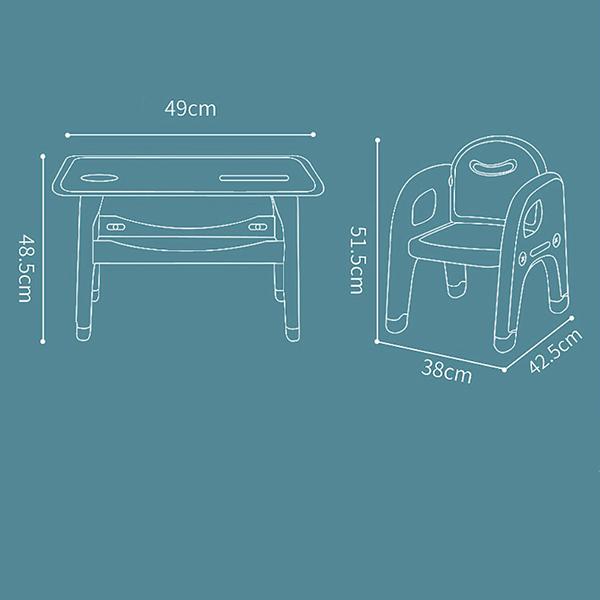Kích thước của bộ bàn ghế