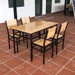 Bàn ghế dành cho nhà hàng, quán ăn giá rẻ