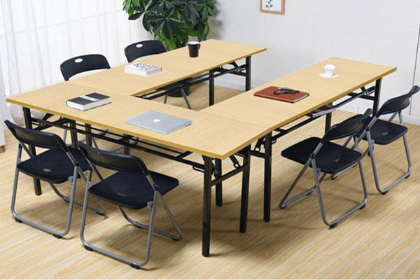 Bàn DL02 làm bàn họp hoặc bàn học nhóm, bàn làm việc chung
