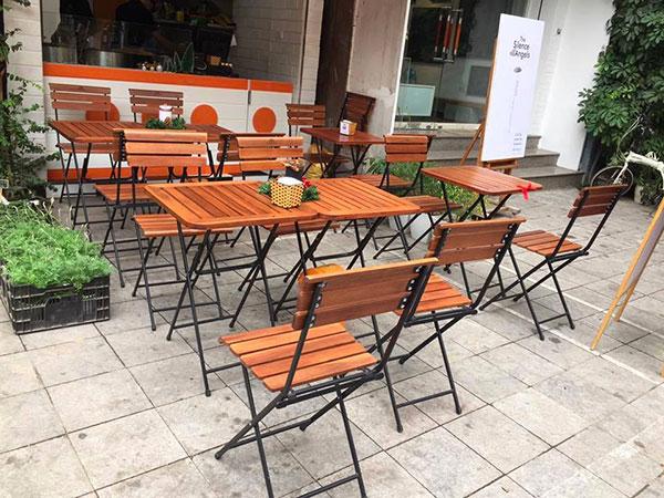 Bàn Ghế Cafe Ngoài Trời Patio 1