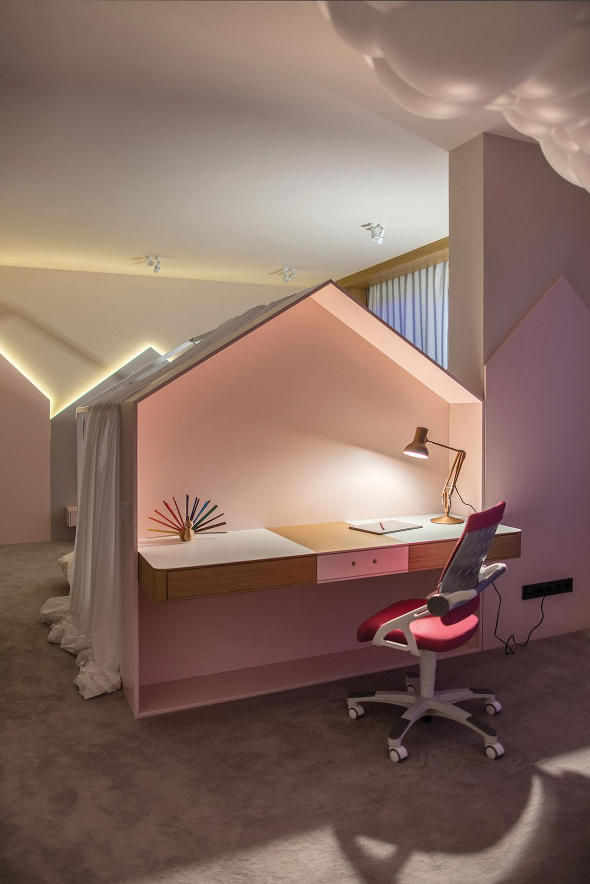 Bạn muốn ngồi làm việc yên tĩnh, hay muốn một không gian riêng biệt mẫu bàn này sẽ cho bạn cảm giác bàn làm việc là nhà. Chiếc bàn rành cho những ai chăm chỉ