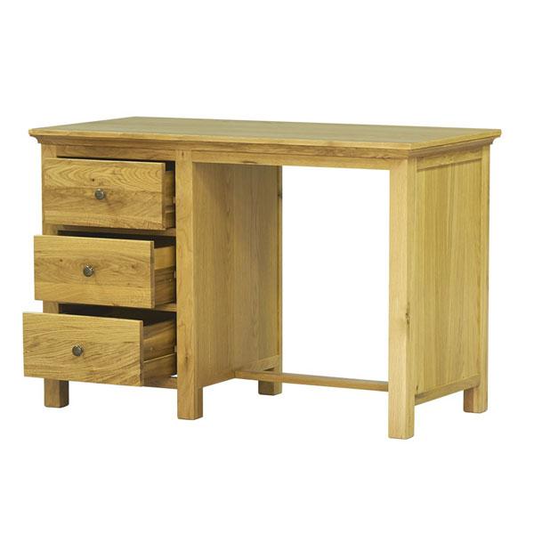 Bàn làm việc gỗ sồi Dragon thiết kế 3 ngăn kéo phụ nhỏ tiện tăng thêm tiện lợi khi sử dụng