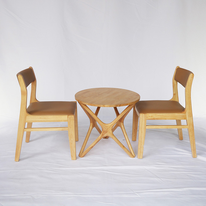 Bàn chân sao kết hợp ghế Nord