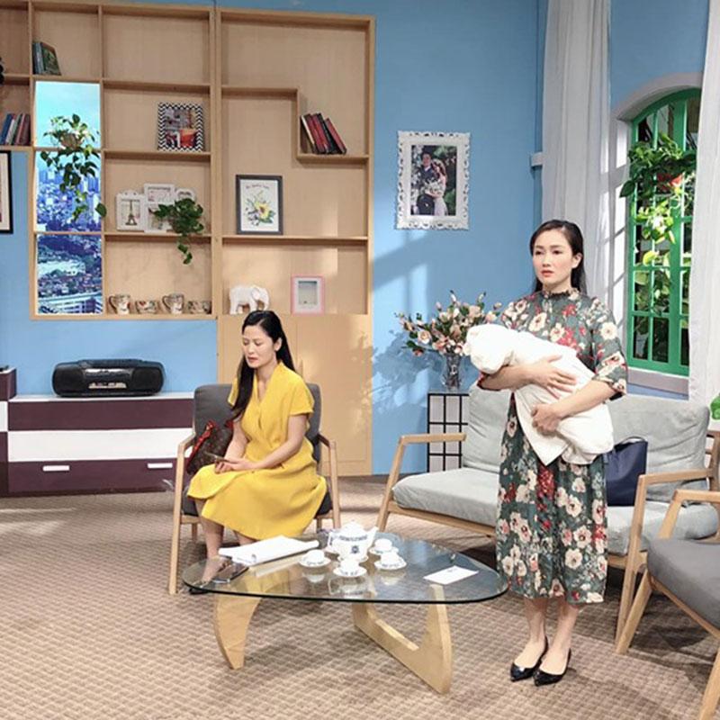 Bàn trà Noguchi VTV Đài Truyền Hình Việt Nam được cung cấp bởi Nội Thất Đại Lợi