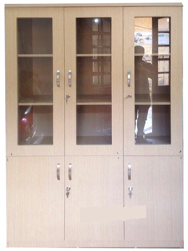 Tủ tài liệu bằng gỗ 3 cánh
