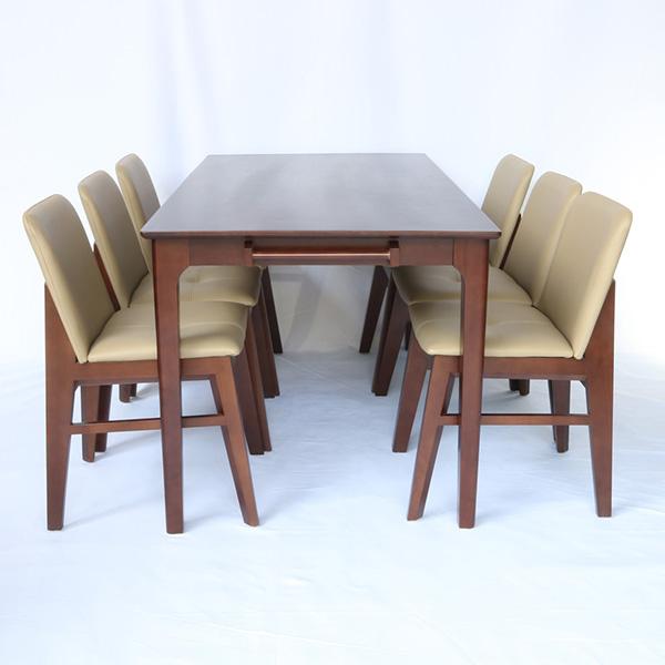 Bộ bàn 6 ghế Obama được dùng làm bàn ghế ăn hoặc cafe