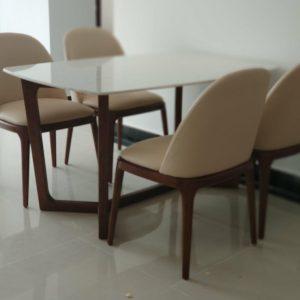 Bộ bàn ăn 4 ghế Dragon 113
