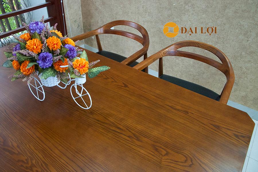 bàn ghế ăn gỗ tại hà nội Dragon 108